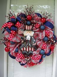 4th of july wreaths pin by on 4th of july wreaths wreaths
