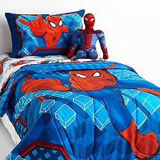 marvel ultimate spiderman 5 piece twin bed bag bedding