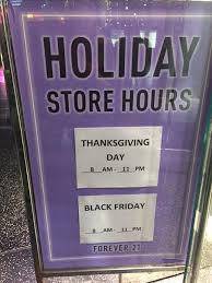 forever 21 sets up marathon shopping on thanksgiving day