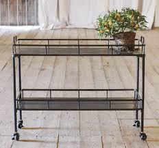 metal kitchen cart on wheels antique farmhouse