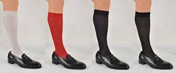 Tuxedo Socks Bresciani Stunning Over The Calf Pure Silk Sized Formalwear Or