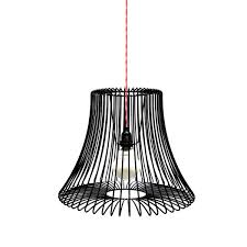 Wire Pendant Light Pendant L Traditional Steel Compact Fluorescent Wire