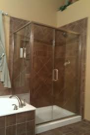 bathtub glass doors bed bath frameless shower doors for neo angle with tile cozy