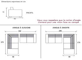 profondeur canapé canapé d angle newcastle canapé d angle pas cher mobilier et