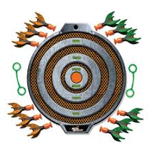 Inflatable Pool Target Diggin Active Micro Missiles Target Set Toys