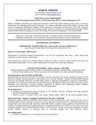 Sample Cto Resume by Ciso Resume Resume Cv Cover Letter