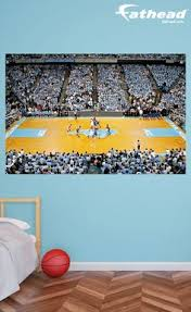 sports murals for bedrooms varsity basketball wall mural low angle the sky and basketball