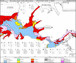 Frost Depth Map Canada by Icebreakers Mv Nordica And Mv Fennica Attempt Late Season Route 3