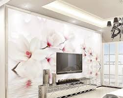 3d wallpaper picture more detailed picture about beibehang beibehang custom wall murals wallpaper white magnolia flower 3d photo wallpaper mural bedroom living room