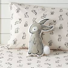 eclectic rabbit ring holder images Bunny decor crate and barrel jpg