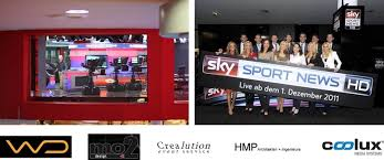 Sky Sports Live Desk German Sky Sport News Hd Studio Shines With Mo2 Design And The