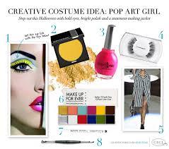 halloween makeup mac v167 expert style tips creative halloween costume idea pop art