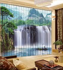 Waterfall Home Decor 2017 Luxury European Modern Nature Scenery Waterfall Fashion Decor