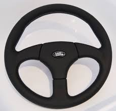 land rover logo black 4x4 outdoor tuning startech sport steering wheel 360mm genuine