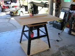 Craftsman Radial Arm Saw Table 2manytoyz Craftsman Radial Arm Saw