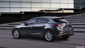 mazda 2017 models 2017 mazda 3 5 door hatchback color machine grey rear three