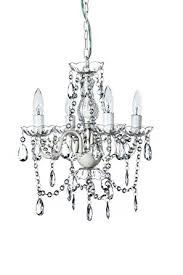 Shabby Chic Chandeliers by The Original Gypsy Color 4 Light Small Shabby Chic Crystal