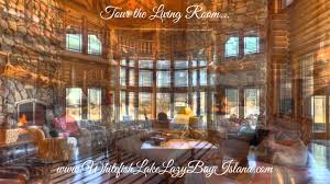 Luxury Log Home Plans Whitefish Lake Home For Sale Luxury Log Home Tour The Living