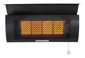overhead patio heater heatstrip natural gas outdoor heater