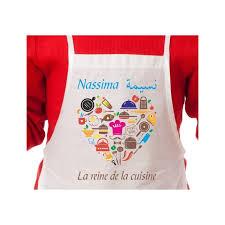 tablier cuisine enfant personnalisé tablier de cuisine enfant personnalisé