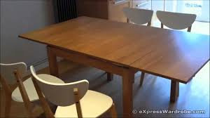 glass dining table room design classy modern hidden expandable