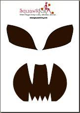 Free Scary Halloween Pumpkin Stencils - scary pumpkin patterns free printable scary pumpkin face with an