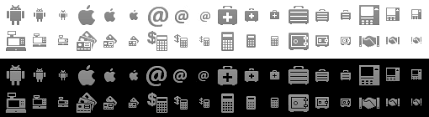 android icon size android icon pack