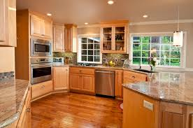 Natural Wood Kitchen Cabinets HBE Kitchen - Best wood for kitchen cabinets