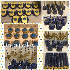 royal prince baby shower favors royal theme baby shower treats royal blue and gold tnt