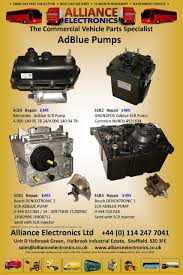 adblue dosing pumps commercial vehicle parts from alliance