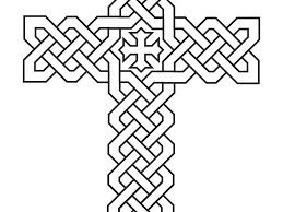 clever design ideas coloring pages of crosses 12 astonishing