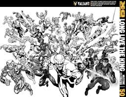 valiant previews x o manowar 50 64 page series finale