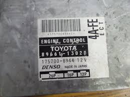 95 02 toyota corolla ae110 manual de la unidad de control del