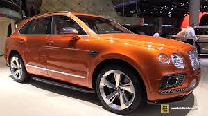 bentley interior 2016 2016 bentley bentayga exterior and interior walkaround debut