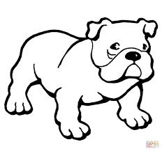 bulldog coloring sheets mediafoxstudio com