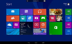 windows on android microsoft remote desktop app puts your windows 8 1 pc on android