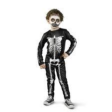 wilko scary skeleton costume 5 6 years at wilko com
