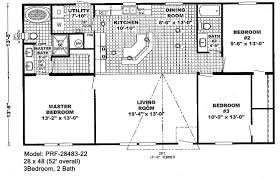 Fema Trailer Floor Plan by Double Wide Floorplans Bestofhouse Net 26822