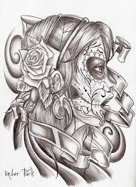 death tattoo style sketch by oendertuerk on deviantart