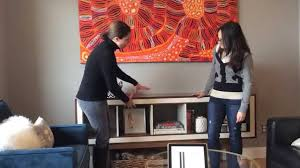 ikea console hack major ikea hack for console table youtube