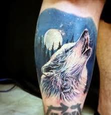 100 howling wolf tattoo on a trouvé pour vous les plus