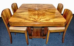 Art Deco Dining Room Set by Art Dining Room Furniture