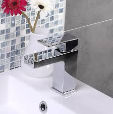 enki milan square design bathroom basin tap shower faucet set ebay