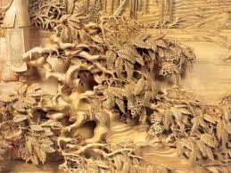wood carving paintings