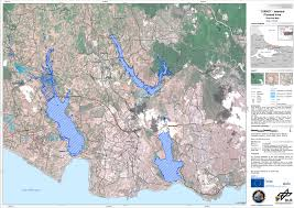 Map Of Istanbul Flooded Areas West Of Istanbul Turkey Of September 11 2009
