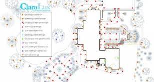 Landscape Lighting Plan 2017 December Saurfrance Clients