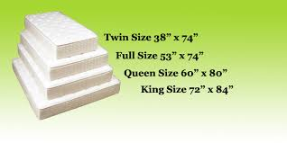Dimension Of Twin Bed Mattress Tree Mattress Size Chart