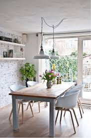 dining table interiorign ideas for small spaces wooden round room