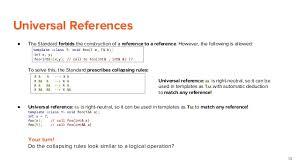 c 11 rvalue references move semantics perfect forwarding