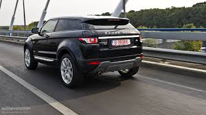 land rover burgundy range rover evoque coupe review autoevolution